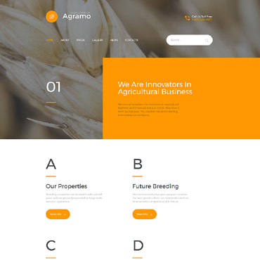Website Template № 58221