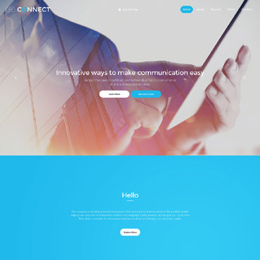 Website Template № 58243