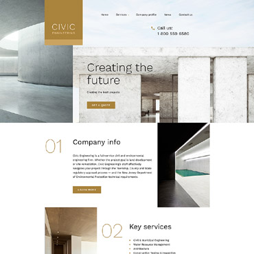 Website Template № 58263