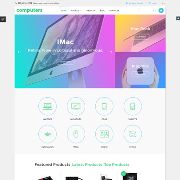 Website Template № 58291