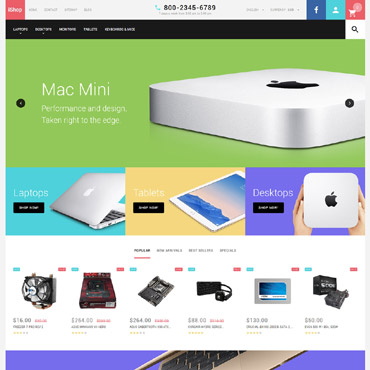 Website Template № 58338