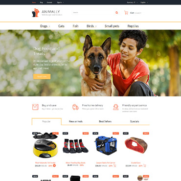 Website Template № 58340