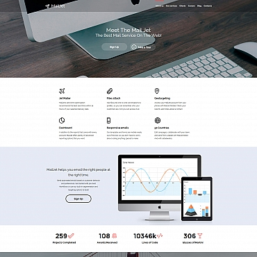 Template Software Moto CMS 3 #58344