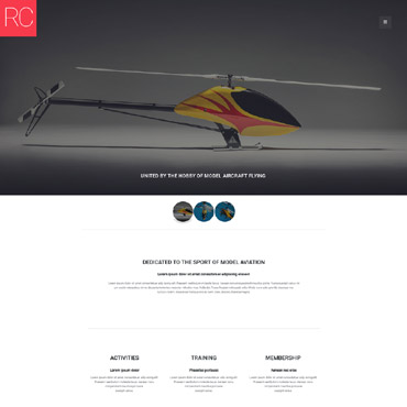 Website Template № 58357