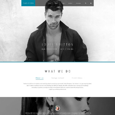 Website Template № 58361