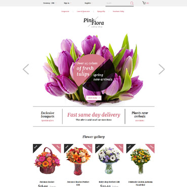 Website Template № 58383