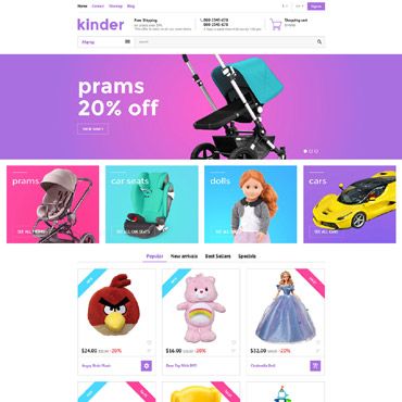 Website Template № 58384