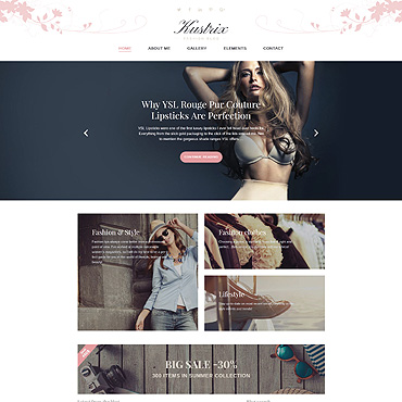Website Template № 58389