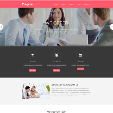 Website Template № 58394