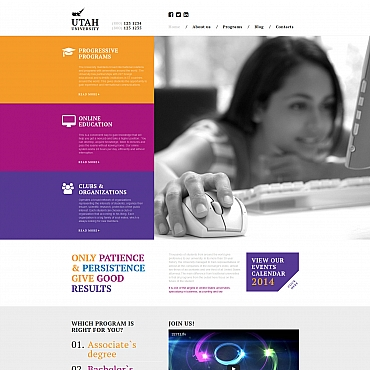 Website Template № 58417