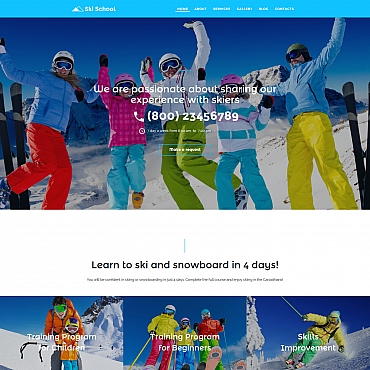 Website Template № 58423