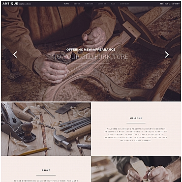 Website Template № 58428