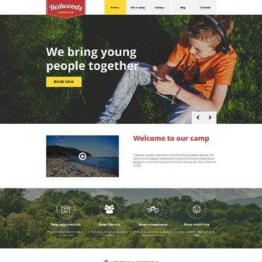 Website Template № 58465