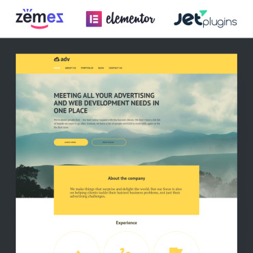 Website Template № 58493