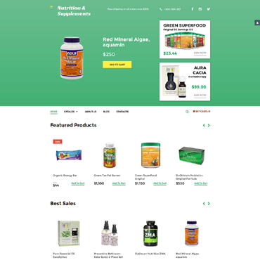 Website Template № 58495