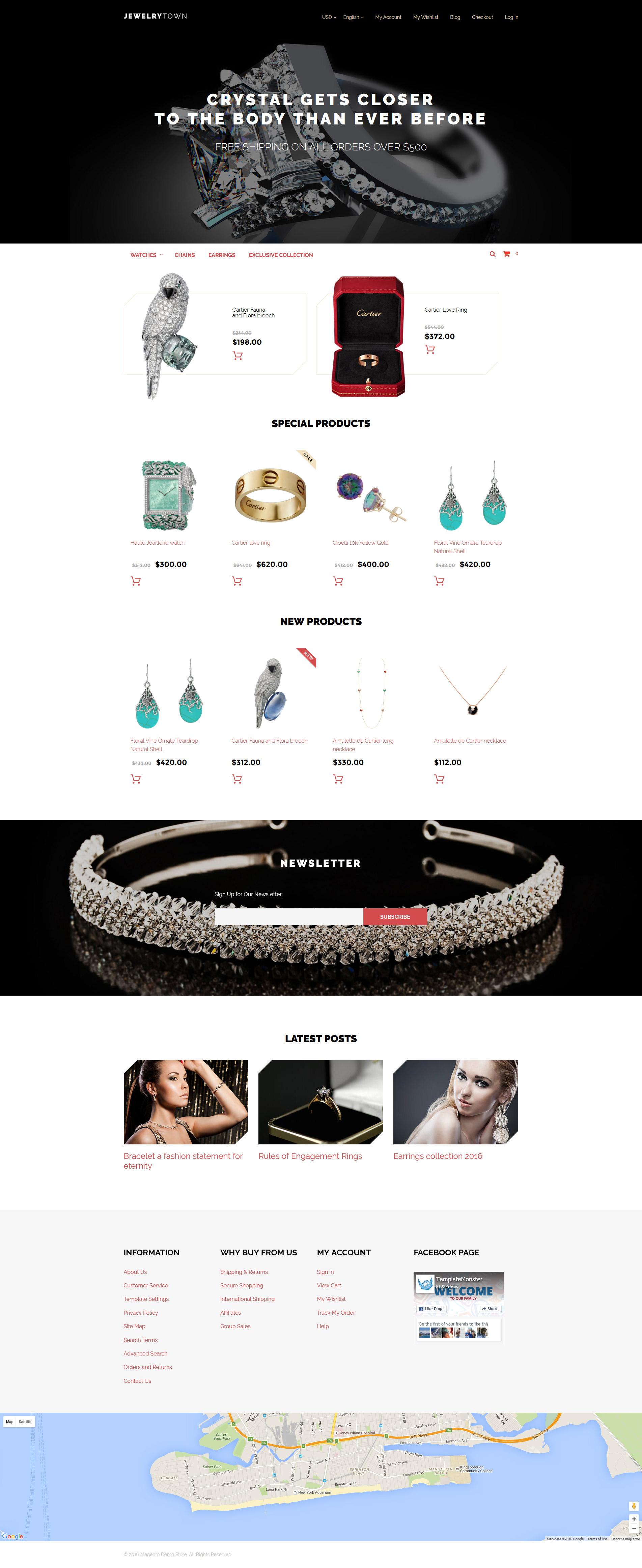 JewelryTown Magento Theme