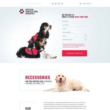 Website Template № 58514
