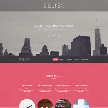 Website Template № 58517