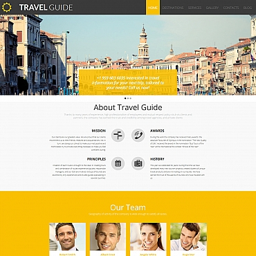 Website Template № 58554