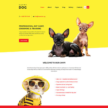 Website Template № 58559