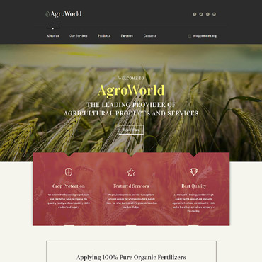 Website Template № 58560
