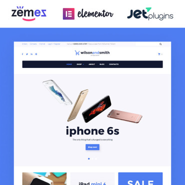 Template Electronice WooCommerce #58569