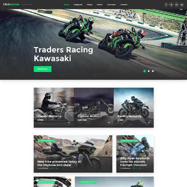 Website Template № 58571