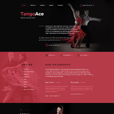 Website Template № 58589