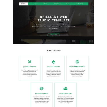 Website Template № 58593