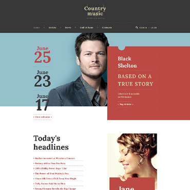 Website Template № 58603