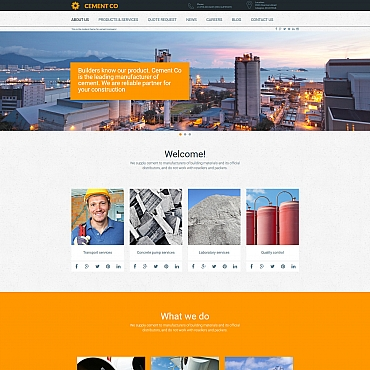 Website Template № 58608