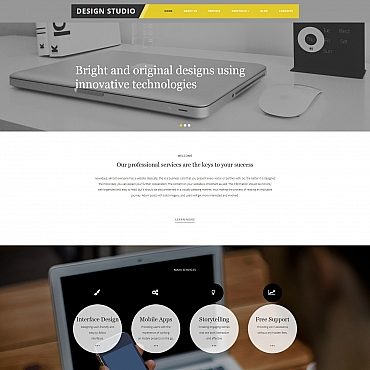 Template Web Design Moto CMS 3 #58624