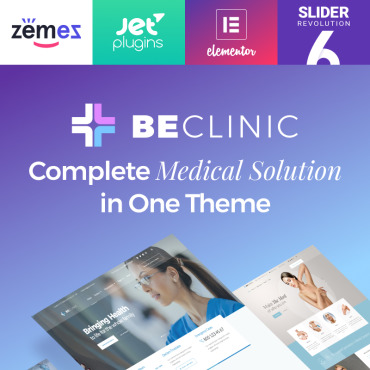 Template Medicină WordPress #58654