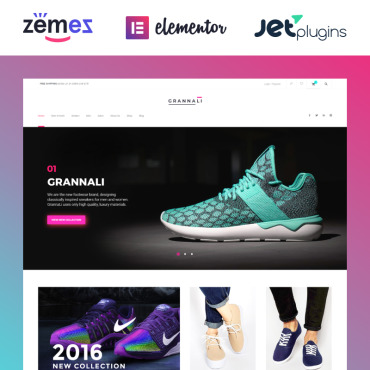 Website Template № 58662