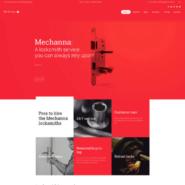 Website Template № 58678