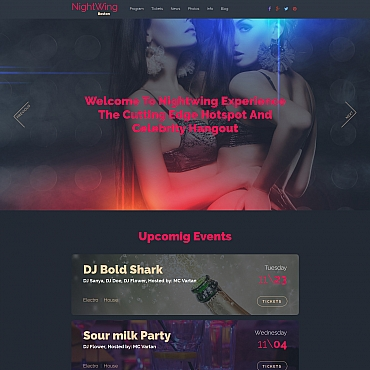 Website Template № 58684
