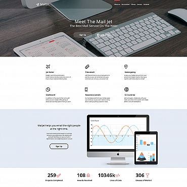 Website Template № 58746