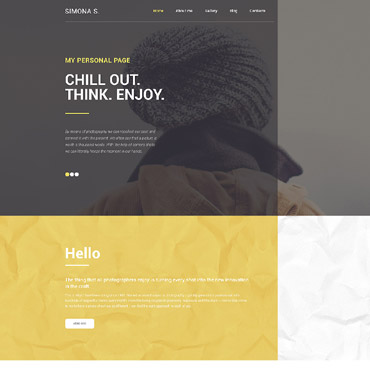 Website Template № 58775