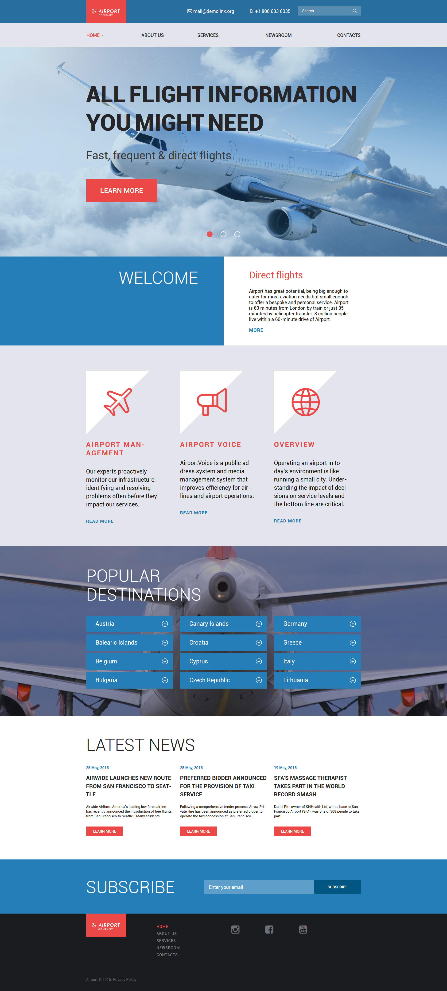 Airfares WordPress Theme