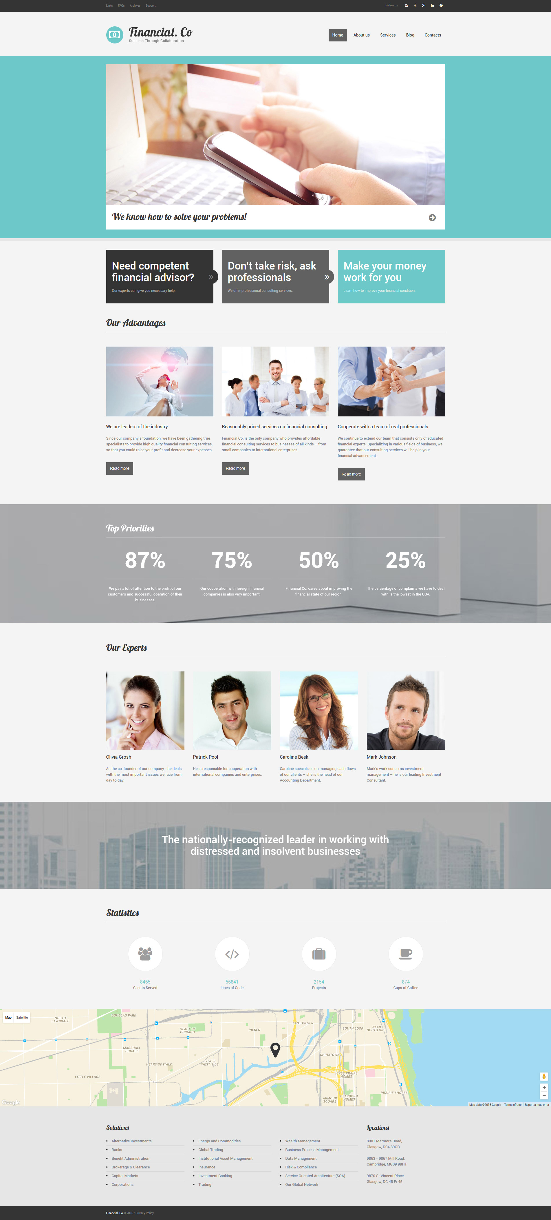 Financial Co Drupal Template