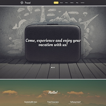 Website Template № 58795