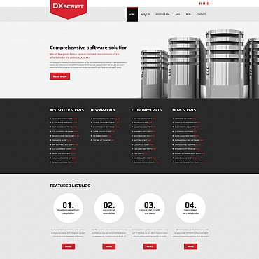 Website Template № 58844