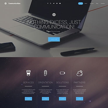 Website Template № 58854