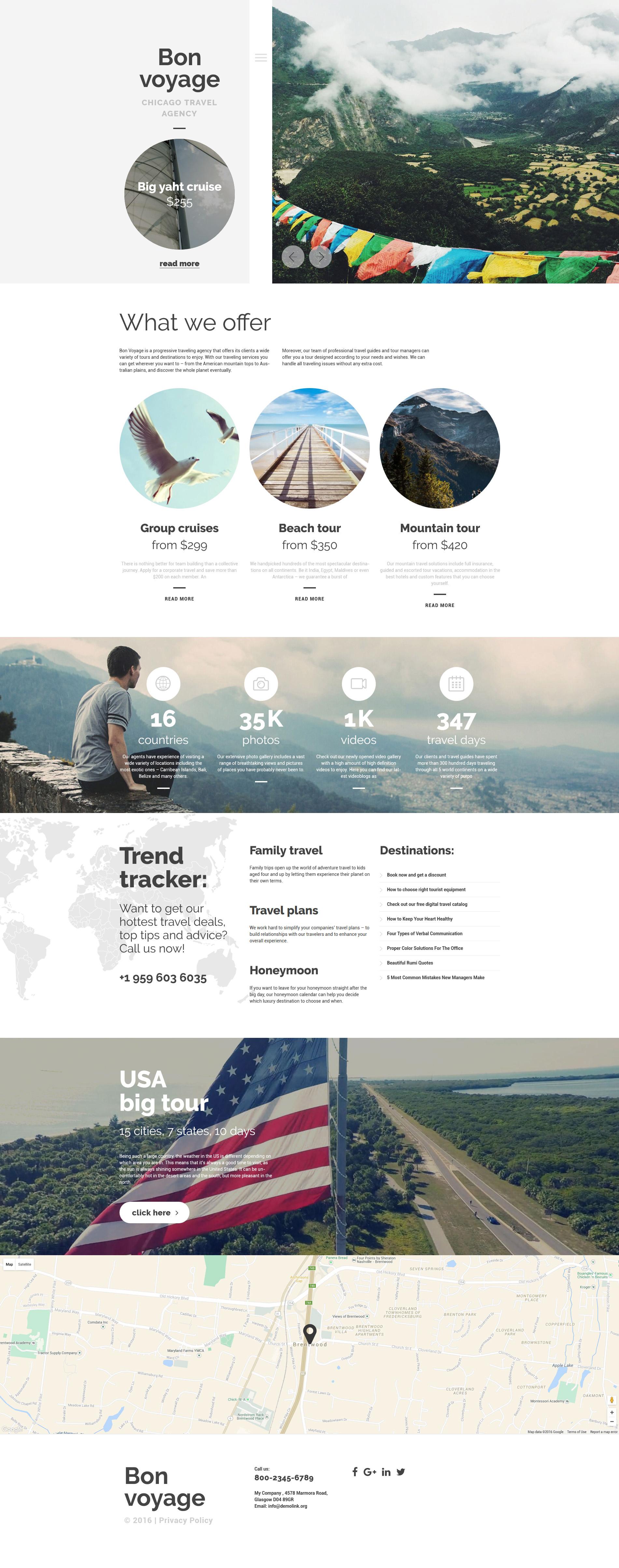 Bon Voyage WordPress Theme
