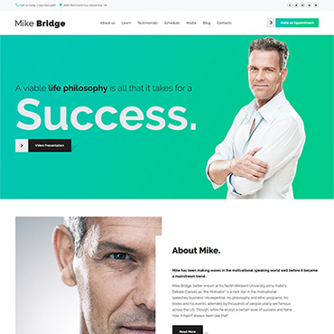 Website Template № 58914