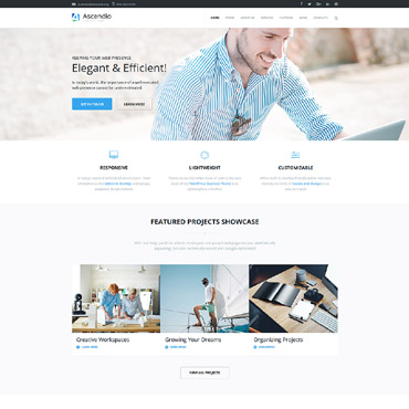 Template Afaceri WordPress #58924