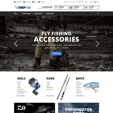 Website Template № 58934