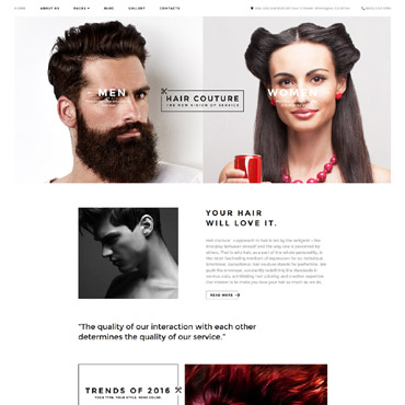 Website Template № 58954