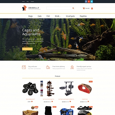 Website Template № 58998