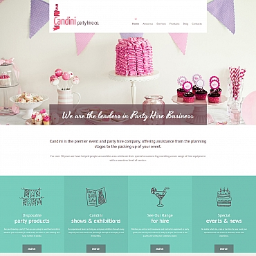 Website Template № 59055